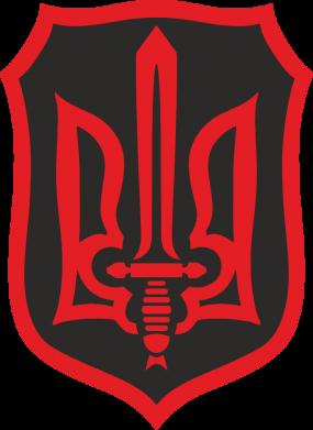 Принт Кепка Shield with the emblem of Ukraine and the sword, Фото № 1 - FatLine
