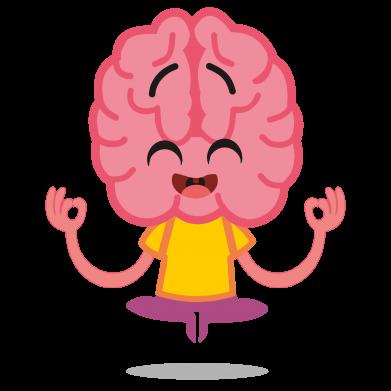 Принт Жіноча футболка The brain meditates, Фото № 1 - FatLine