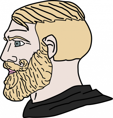 Принт Кружка 320ml Meme Man Nordic Gamer, Фото № 1 - FatLine