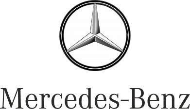 Принт Подушка Mercedes-Benz Logo - FatLine