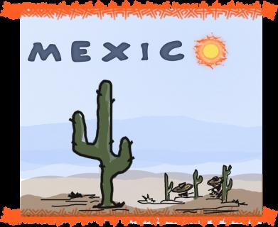 Принт Жіноча футболка Mexico art, Фото № 1 - FatLine
