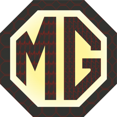 Принт Кружка 320ml MG Cars Logo - FatLine