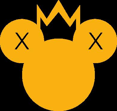 Принт Жіноча футболка Mickey with a crown, Фото № 1 - FatLine
