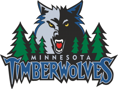 Принт Футболка Поло Minnesota Timberwolves - FatLine