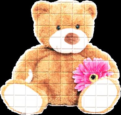 Принт Кепка М'який ведмедик, Фото № 1 - FatLine