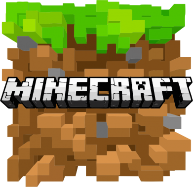 Принт Футболка Поло Minecraft Main Logo - FatLine