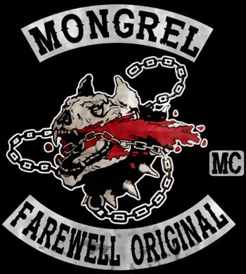 Принт Жіноча футболка Mongrel MC, Фото № 1 - FatLine