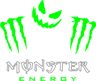 Принт Футболка Monster Energy Halloween - FatLine