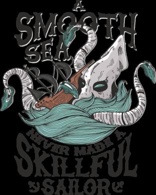 Принт Жіноча футболка Морське чудовисько Кракен, Фото № 1 - FatLine