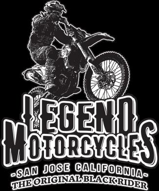 Принт Жіноча футболка Legends motorcycle, Фото № 1 - FatLine