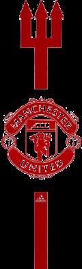 Принт Футболка з довгим рукавом Тризуб Манчестер, Фото № 1 - FatLine