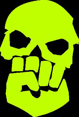 Принт Кепка Skull and Fist, Фото № 1 - FatLine