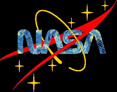 Принт Жіноча футболка Nasa Wan Gogh, Фото № 1 - FatLine