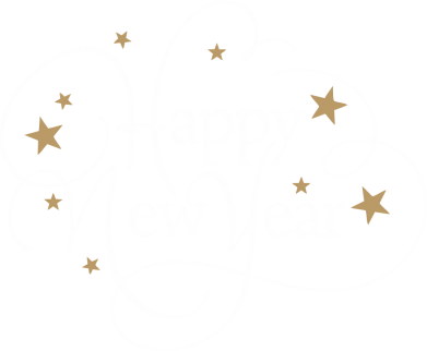Принт Жіноча футболка Happy new year and stars, Фото № 1 - FatLine