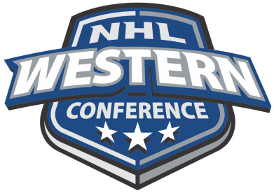 Принт Футболка Поло NHL Western Conference - FatLine