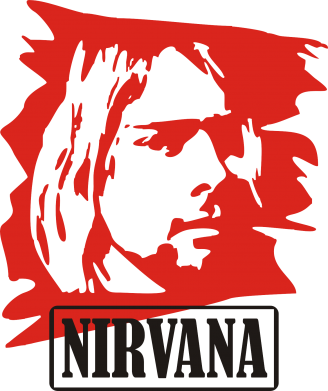 Принт Коврик для мыши Nirvana Kurt Cobian - FatLine