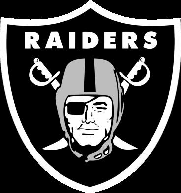 Принт Футболка с длинным рукавом Oakland Raiders - FatLine