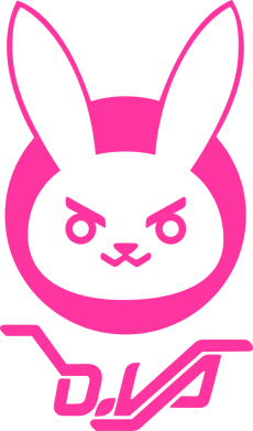Принт Кепка Overwatch dva rabbit, Фото № 1 - FatLine