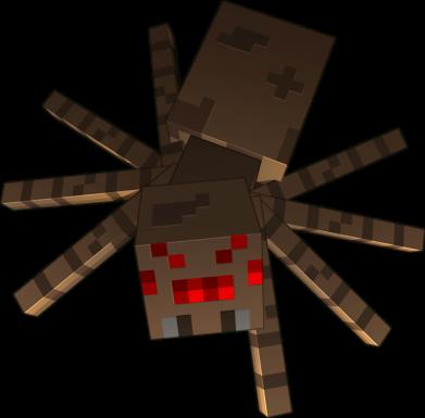 Принт Жіноча футболка Spider from Minecraft, Фото № 1 - FatLine