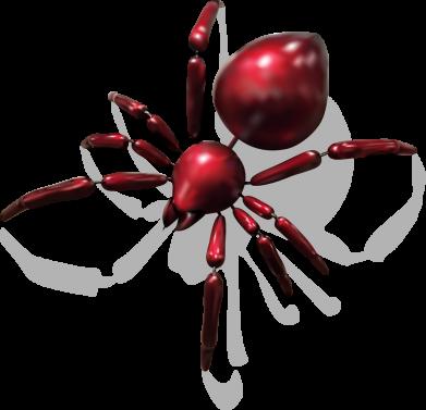 Принт Жіноча футболка Red spider, Фото № 1 - FatLine