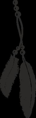 Принт Женская футболка поло Перо - FatLine