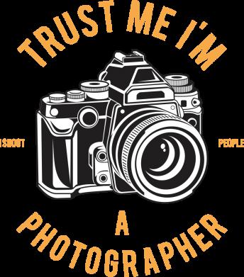 Принт Жіноча футболка Trust me i'm photographer, Фото № 1 - FatLine