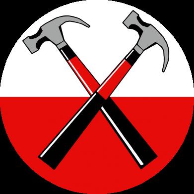 Принт Мужские шорты Pink Floyd Main Logo - FatLine