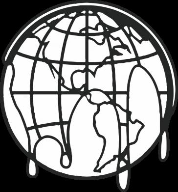 Принт Женская футболка Planet contour, Фото № 1 - FatLine