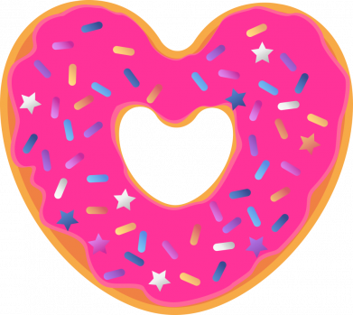 Принт Кепка Я люблю пончик, Фото № 1 - FatLine