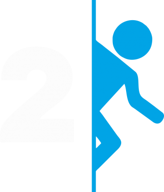 Принт Кепка Portal 2 logo, Фото № 1 - FatLine