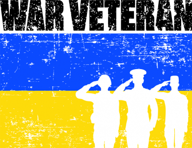 Принт Кружка 320ml War veteran, Фото № 1 - FatLine