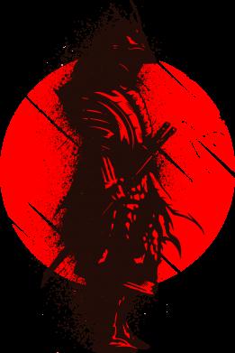 Принт Кружка 320ml Samurai spray, Фото № 1 - FatLine