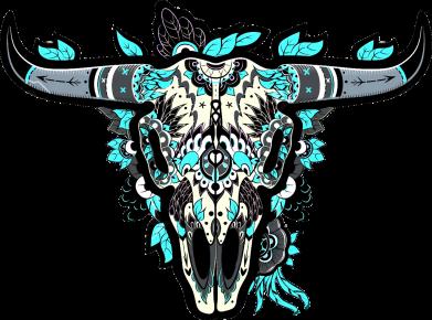 Принт Кепка Art horns, Фото № 1 - FatLine