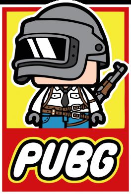 Принт Кепка PUBG LEGO, Фото № 1 - FatLine