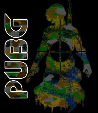 Принт Чоловіча футболка Pubg camouflage silhouette, Фото № 1 - FatLine