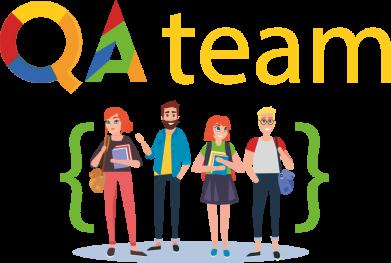 Принт Женская футболка QA+TEAM, Фото № 1 - FatLine