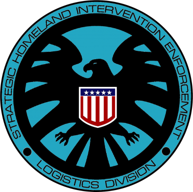 Принт Футболка Логотип Щита - FatLine