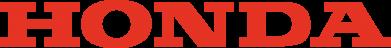Принт Тельняшка с длинным рукавом Honda надпись - FatLine