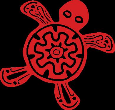 Принт Жіноча футболка Turtle fossil, Фото № 1 - FatLine
