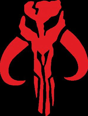 Принт Женская футболка Mandalorian emblem, Фото № 1 - FatLine