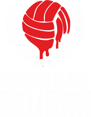Принт Майка-тельняшка Football is our religion - FatLine