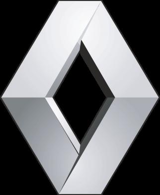 Принт Мужская футболка  с V-образным вырезом Renault Logo - FatLine
