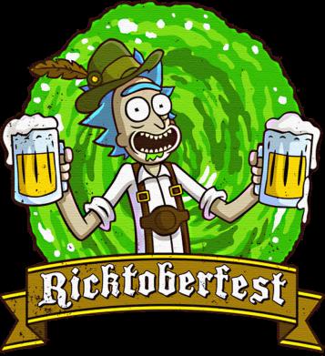 Принт Кепка Ricktoberfest, Фото № 1 - FatLine