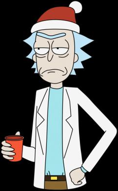 Принт Жіноча футболка Dissatisfied Rick, Фото № 1 - FatLine