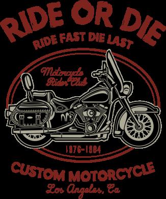 Принт Жіноча футболка Ride Or Die, Фото № 1 - FatLine