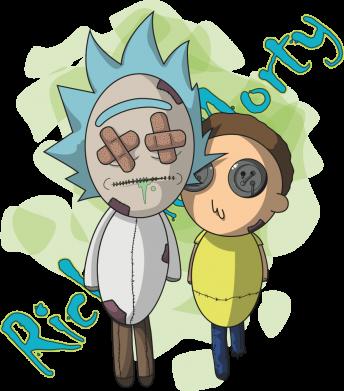 Принт Кружка 320ml Rick and Morty voodoo doll, Фото № 1 - FatLine