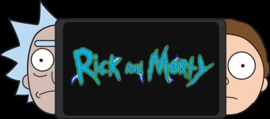 Принт Женская футболка Rick and Morty Game Console, Фото № 1 - FatLine