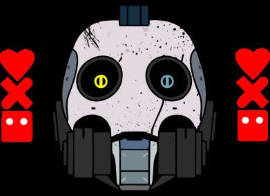 Принт Женская футболка Love death and robots, Фото № 1 - FatLine