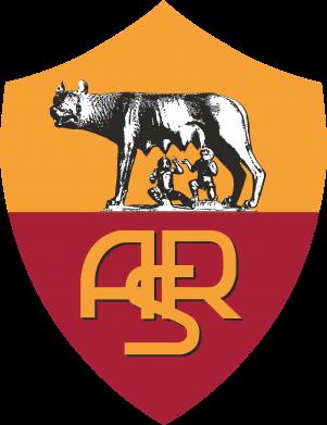 Принт Мужская футболка  с V-образным вырезом FC Roma - FatLine