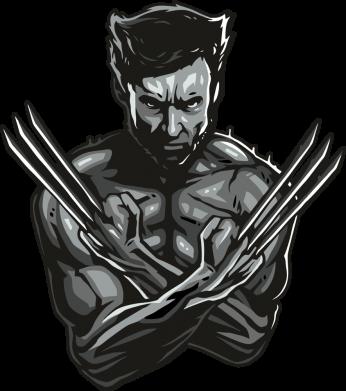 Принт Женская футболка Logan Wolverine vector, Фото № 1 - FatLine
